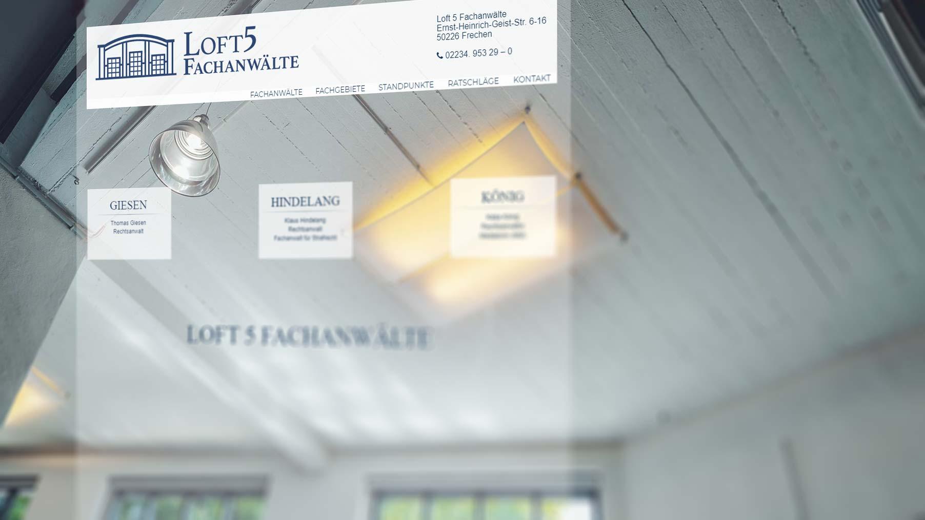 Terramedia: Relaunch Rechtsanwälte Villa Weiden
