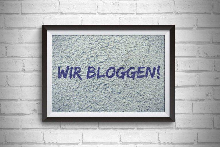 Wir bloggen