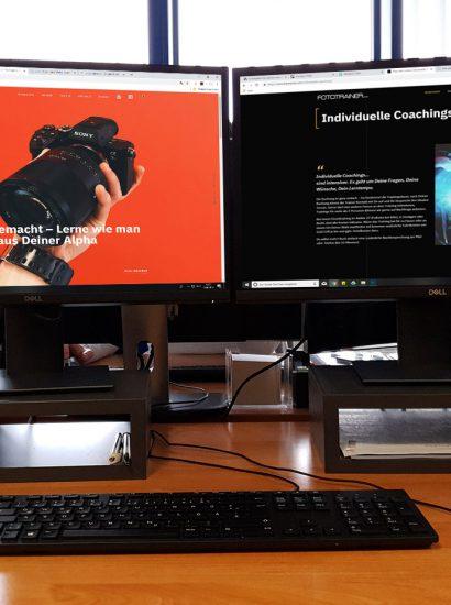 Relaunch der Webseite fototrainer.com durch terramedia Internetagentur Köln