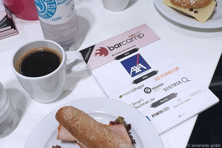 Online Marketing Barcamp (#omwest19) in Köln - erstmal frühstücken!